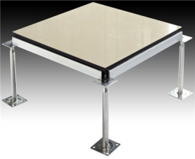 新疆防静电地板的三类贴面材料特性概述